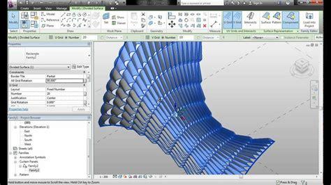 tutorial revit estructural revit 2013 mallas paneles superficie param 233 trica