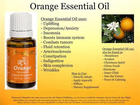 Living Essential Orange cures with living orange essential