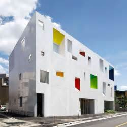 Architect Designs Sugamo Shinkin Bank By Emmanuelle Moureaux Dezeen