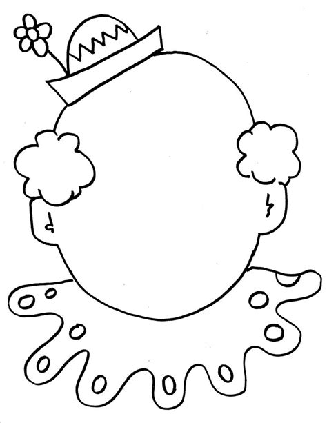 Janice S Daycare Circus Coloring Sheets Clown Coloring Page