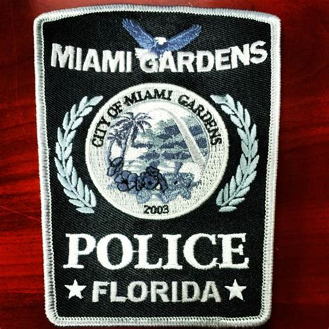 Miami Gardens Department by Patches For The Miami Gardens Department Here In
