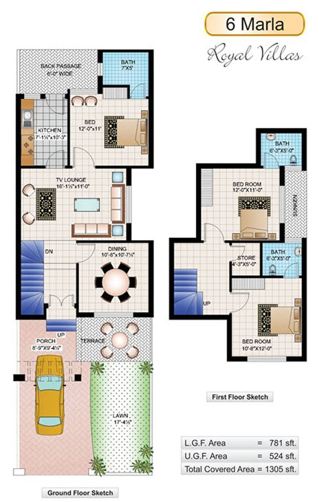 home design 4 marla 6 marla house plans civil engineers pk