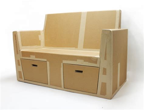 sofa in a box cardboard sofa by rocio alonso at coroflot com