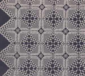 motif and pattern discovery vintage crochet pattern filet bedspread berkeley square