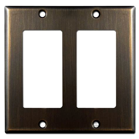 Rubbed Bronze Switch Plates 2 Decora Switch Plate Rubbed Bronze Kyle Switch Plates