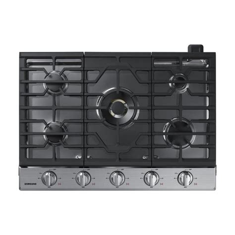 30 inch gas cooktop samsung 30 inch gas cooktop stainless steel rc willey