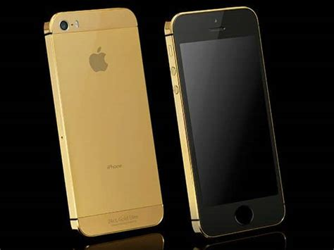 real gold iphone   stand