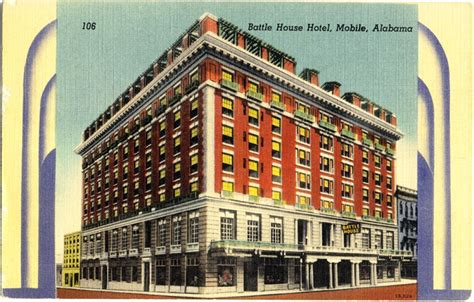 Battle House Hotel by The About The Postcards Linen Hotel Trio