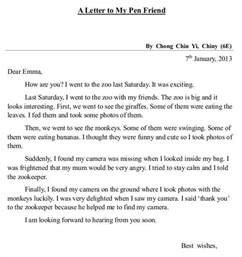 friendly letter templates 44 free sle exle