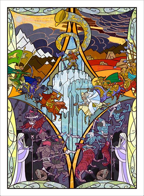 of glass lord of the vag books tolkien ill jian guo book graphics