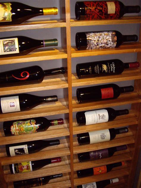 Closet Wine Rack by Horizontal Wine Rack Wine Cellar With Glass