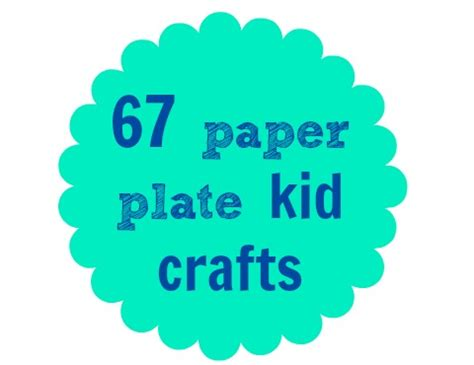 What Can You Make With A Paper Plate - paper plate crafts for a z c r a f t