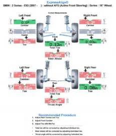 2007 335i coupe alignment sheet do i need an alignment