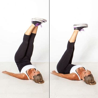 touch the sky a lower ab workout that also engages your glutes and thighs lie on your back with