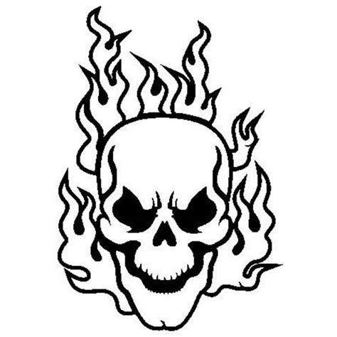 Flaming Skull Coloring Pages coloring pages of skulls on coloring pages