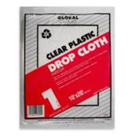 clear plastic drop cloth 10u0027 x clear plastic drop cloth 10 x 20