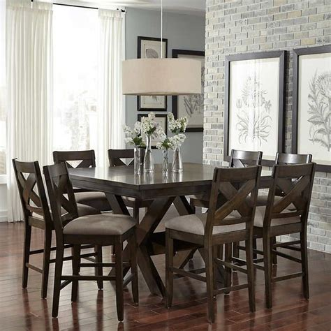 felicia 9 counter height dining set dining room
