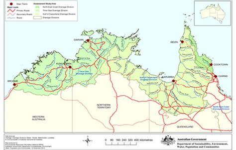 map northern australia northern australia map