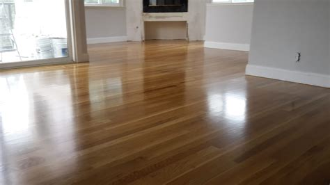 white oak hardwood floors with a color and a semi