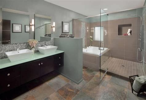 Bathroom Tile Feature Ideas master bathroom ideas photo gallery monstermathclub com