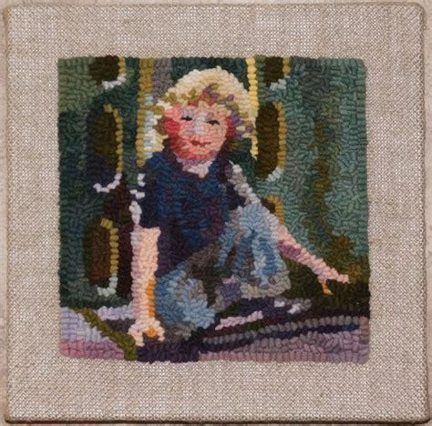 punch needle rug hooking 3110 best rug hooking images on