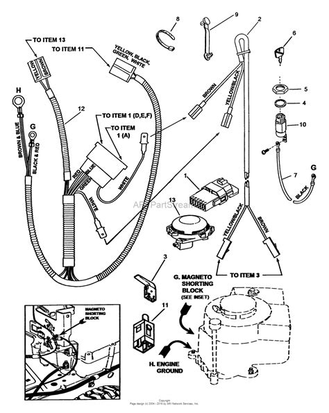 snapper 250815b rear engine rider series 15 parts diagram