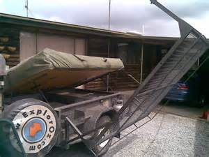 cer trailer with boat swing rack exploroz forum