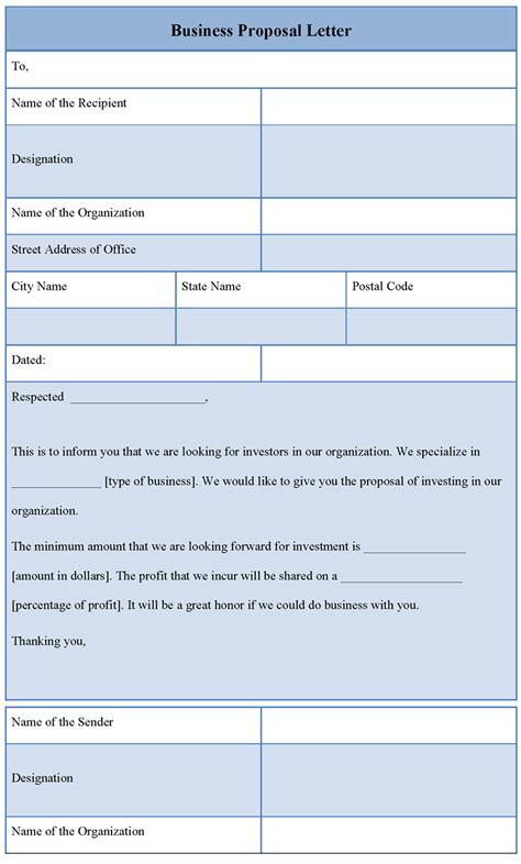 business template template for business letter sle of business