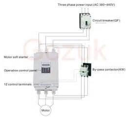 soft start motor starter diagram motor start circuit diagram wiring diagrams