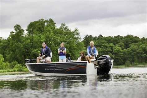 crestliner boats iowa crestliner 1650 fish hawk boats for sale boats