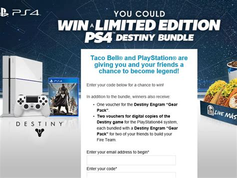 Taco Bell Ps4 Sweepstakes - the taco bell and playstation game sweepstakes