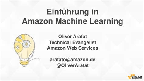 amazon machine learning einf 252 hrung in amazon machine learning aws machine