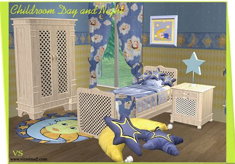 Children Bedroom Set Vitasims2 Download Objects Sims2 Celebrities Skins Sims2