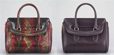 Other Designers Purse Deal Mcqueen Mini Novak With Clasp by Mcqueen Debuts The Heroine Satchel Purseblog