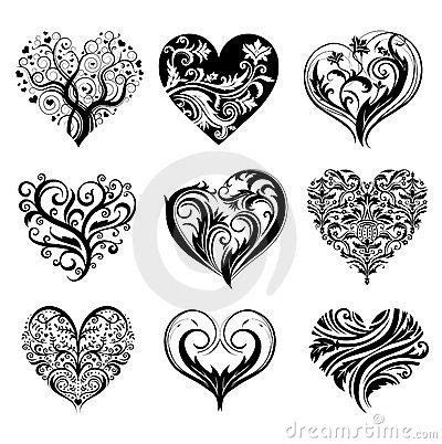 heart and scroll tattoo designs 17 best ideas about designs on