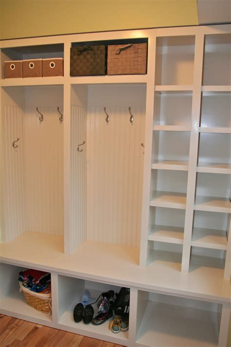 Ikea Mudroom Lockers grusby woodworks entry mudroom cubbies