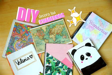 decorar cuadernos diy diy 6 ideas f 225 ciles para decorar tus cuadernos