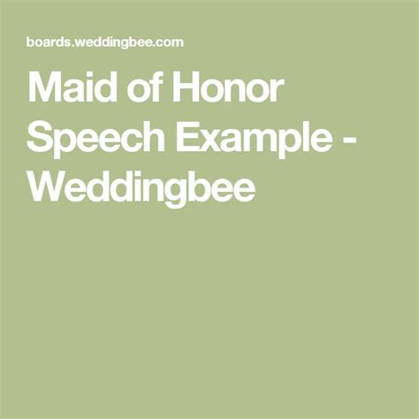 of honor speech templates 25 best ideas about wedding speech exles on