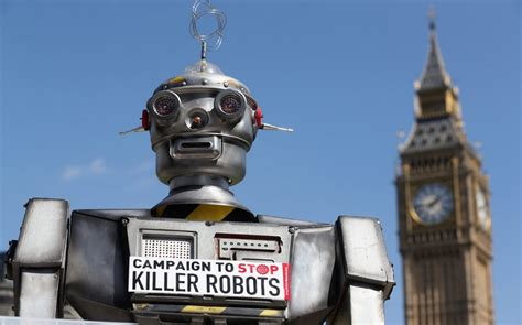 killer robot killer robots could start new arms race human rights