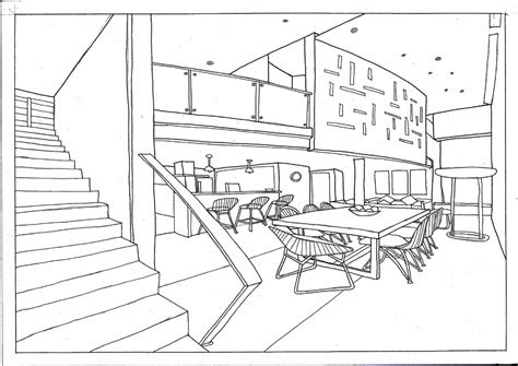 How To Draw A Dining Room by How To Draw A Dining Room Learn How To Draw Dining Table
