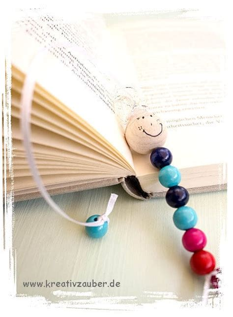 Lesezeichen Basteln Mit Kindern by Lesezeichen Selber Machen Mit Perlen Kreativzauber