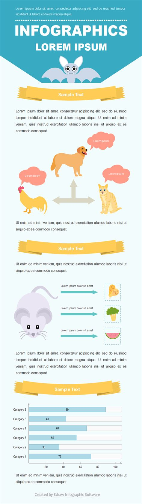 Free Editable Infographic Templates For Animal Free Editable Infographic Templates