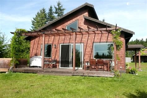 Cabin Rental Washington by Cabin Rental With Tub In Port Angeles Washington