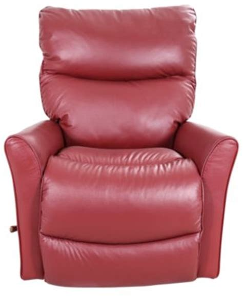 red lazy boy recliner la z boy rowan red leather rocker recliner homemakers