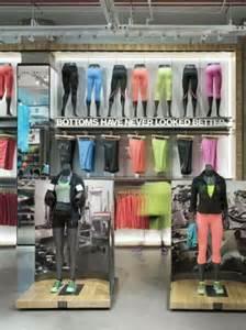 Merchandise Display Case Under Armor Store Displau Triad Manufacturing