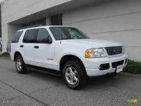 2005 oxford white ford explorer xlt 4x4 19886209