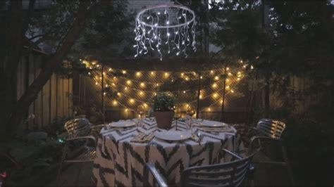 house home backyard garden lights youtube