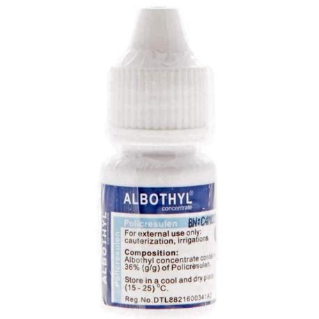 Albothyl 10 Ml albothyl concentrate 10ml medanmart