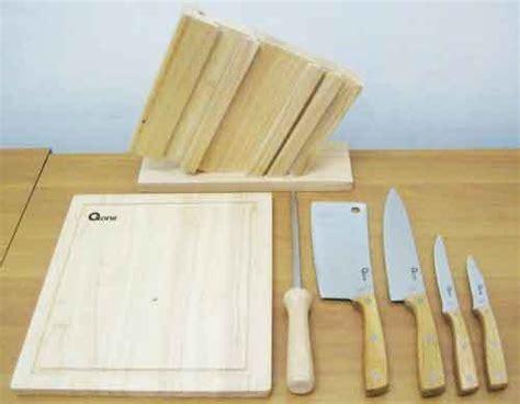 Jual Pisau Dapur Satu Set terjual jual wooden knife set oxone pisau dapur oxone ox