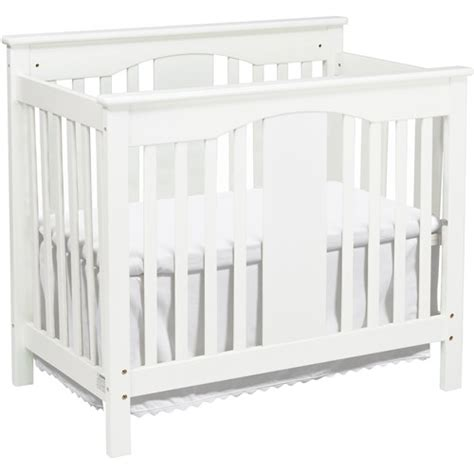 Davinci Annabelle Fixed Side Mini Crib White Walmart Com Walmart Mini Crib